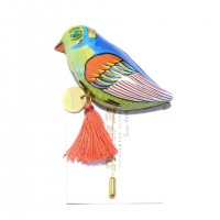 TIN-TOY brooch(Bird)