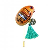 TIN-TOY brooch(Chicken)
